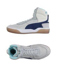 Alexander McQueen X Puma | Gray High-tops & Sneakers for Men | Lyst