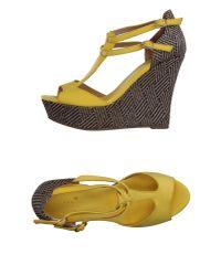 Essentiel Antwerp - Yellow Sandals - Lyst