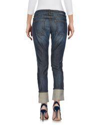 Current/Elliott Blue Denim Pants