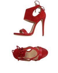 Marc Ellis | Red Sandals | Lyst