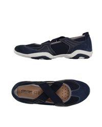 Geox Blue Ballet Flats