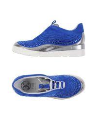 Fabi Blue Low-tops & Sneakers