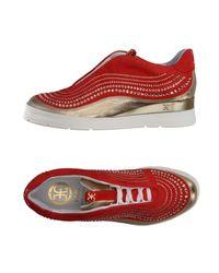 Fabi Red Low-tops & Sneakers