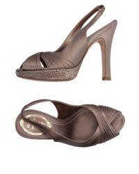 Rene Caovilla Multicolor Sandals