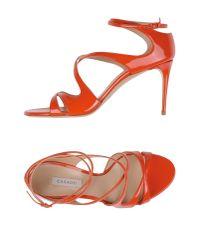 Casadei Red Sandals