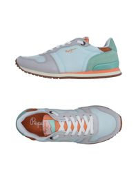 Pepe Jeans Blue Low-tops & Sneakers