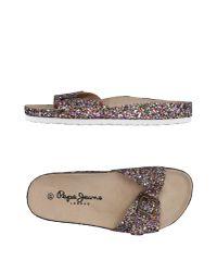 Pepe Jeans Multicolor Sandals