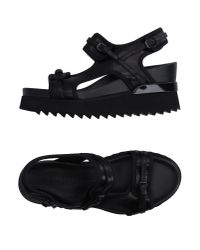 A.F.Vandevorst | Black Sandals | Lyst