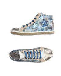Soisire Soiebleu Blue High-tops & Sneakers