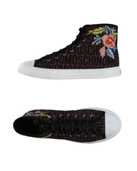 Moschino | Brown High-tops & Sneakers for Men | Lyst