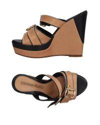 Stefania Pellicci   Multicolor Sandals   Lyst
