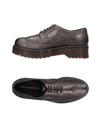 Design Manifattura Multicolor Lace-up Shoe