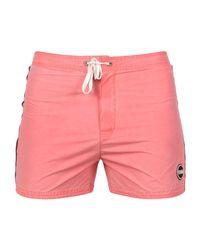 Colmar - Pink Swimming Trunks for Men - Lyst