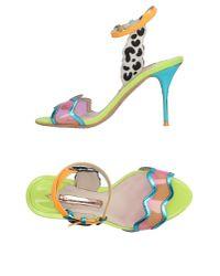 Sophia Webster - Blue Sandals - Lyst