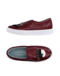 Chiara Ferragni - Purple Low-tops & Sneakers - Lyst
