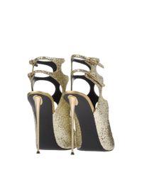 Giuseppe Zanotti Metallic Sandals