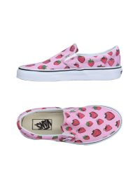 Vans - Pink Low-tops & Sneakers - Lyst