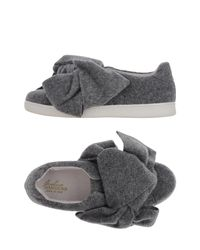 Joshua Sanders Gray Low-tops & Sneakers