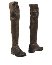Strategia | Brown Boots | Lyst