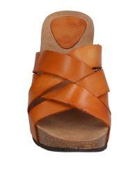 Scholl - Brown Sandals - Lyst