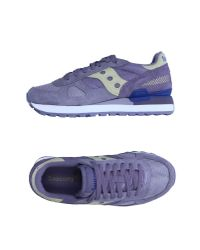 Saucony | Purple Low-tops & Sneakers | Lyst