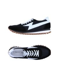 Marc Jacobs - Black Lightning Patch Sneakers for Men - Lyst
