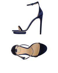 Elisabetta Franchi | Blue Sandals | Lyst