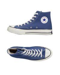 Converse - Blue Ctas Hi Top for Men - Lyst