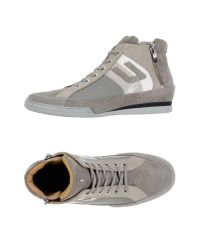 Cesare Paciotti | Gray High-tops & Sneakers | Lyst