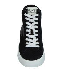 EA7 - Black High-tops & Sneakers - Lyst
