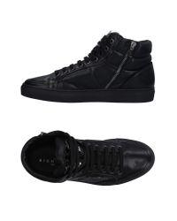 John Richmond Black High-tops & Sneakers for men