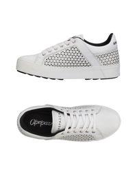 Apepazza White Low-tops & Sneakers