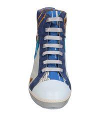 Soisire Soiebleu White High-tops & Sneakers