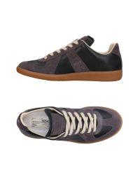 Maison Margiela Black Low-tops & Sneakers