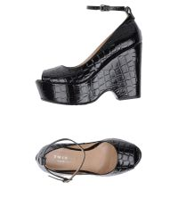 Twin Set - Black Pump - Lyst