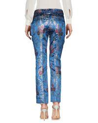 Pantalon History Repeats en coloris Blue