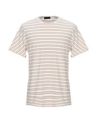 T-shirt di Roberto Collina in White da Uomo