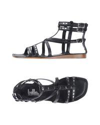Belle By Sigerson Morrison - Black Sandals - Lyst