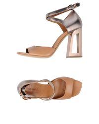 Vic Matié Natural Sandals