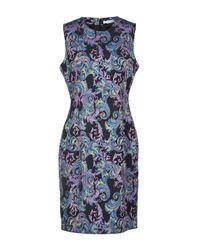 Versace Purple Short Dress
