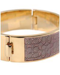 COACH - Pink Bracelet - Lyst