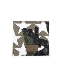 Valentino White Wallet for men