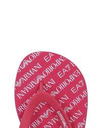 Emporio Armani Multicolor Toe Strap Sandal