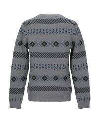 Pullover SELECTED pour homme en coloris Gray