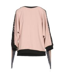 DV ROMA - Pink Sweatshirt - Lyst