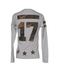 Hydrogen - Gray T-shirt for Men - Lyst