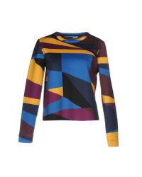 Sportmax Code Yellow Sweatshirt