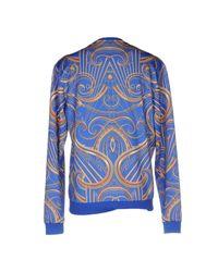Versace Jeans | Blue Sweatshirt for Men | Lyst