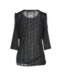 T-shirt Patrizia Pepe en coloris Black