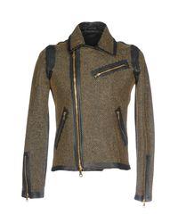 Giorgio Brato Black Jacket for men